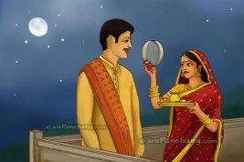 wife_sighting_husband_karwa_chauth